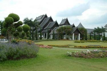 Hotel Rimkok Resort: Exterieur CHIANG RAI