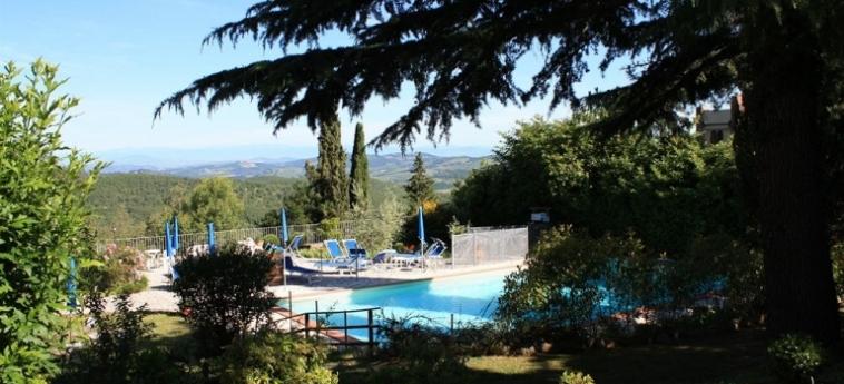 Hotel Villa Sant'uberto Country Inn: Campo da Basket CHIANTI AREA