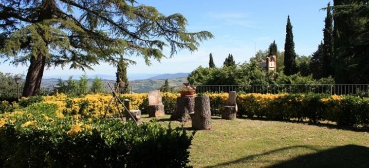 Hotel Villa Sant'uberto Country Inn: Passeggiata CHIANTI AREA