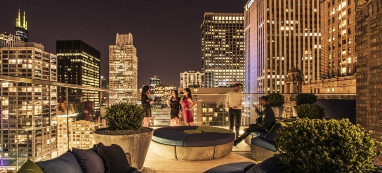 Virgin Hotels Chicago: Panoramarestaurant CHICAGO (IL)