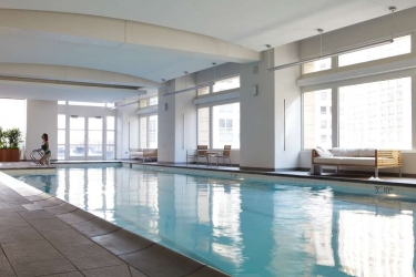 Hotel Park Hyatt: Swimming Pool CHICAGO (IL)