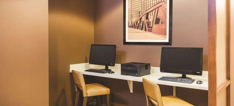 Hotel La Quinta Inn & Suites Chicago Downtown: Business Centre CHICAGO (IL)