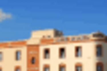 Hotel Alboran : Extérieur CHICLANA DE LA FRONTERA