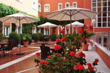 Hotel Alboran : Exterieur CHICLANA DE LA FRONTERA