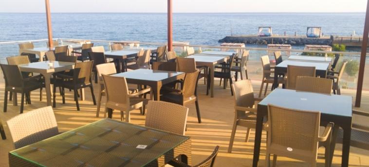 Hotel Ada Beach: Terrazza CIPRO