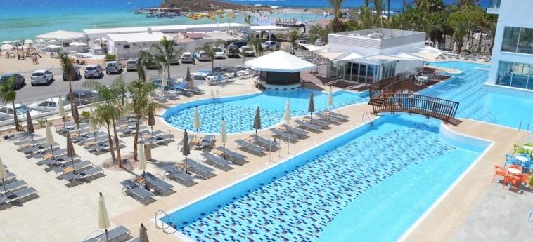Hotel Vassos Nissi Plage: Piscine chauffée CIPRO