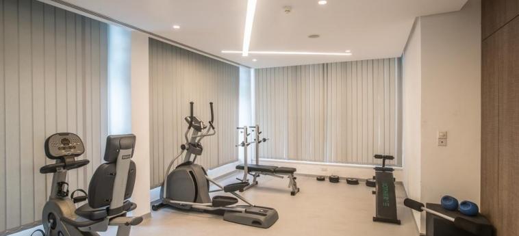 Hotel Vassos Nissi Plage: Salle de Gym CIPRO