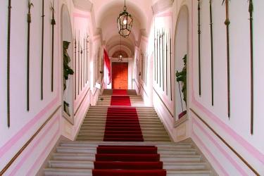 Hotel Castelbrando: Escalier CISON DI VALMARINO - TREVISO