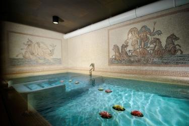 Hotel Castelbrando: Piscine Couverte CISON DI VALMARINO - TREVISO