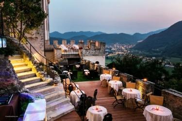 Hotel Castelbrando: Terrasse CISON DI VALMARINO - TREVISO