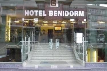 Hotel Benidorm: Esterno CITTA' DEL MESSICO