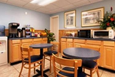 Hotel Days Inn Clearwater Beach: Frühstücksraum CLEARWATER (FL)