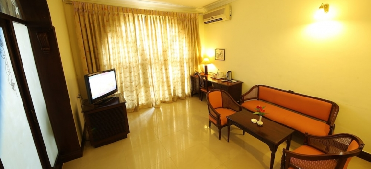 Ats Willingdon Hotel: Living area COCHIN (KOCHI)