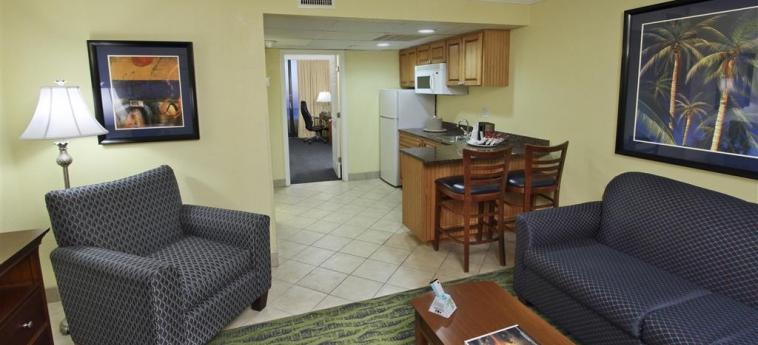 Best Western Ocean Beach Hotel & Suites: Camera Suite COCOA BEACH (FL)