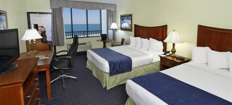 Best Western Ocean Beach Hotel & Suites: Stanza degli ospiti COCOA BEACH (FL)