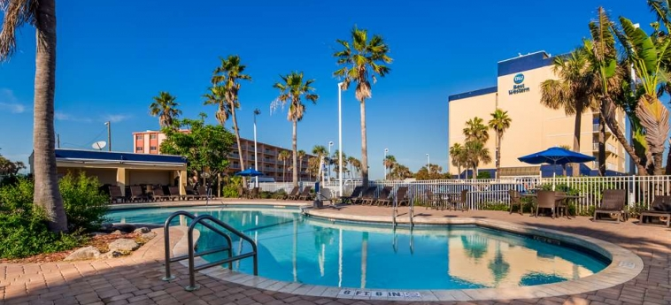 Best Western Ocean Beach Hotel & Suites: Pool COCOA BEACH (FL)