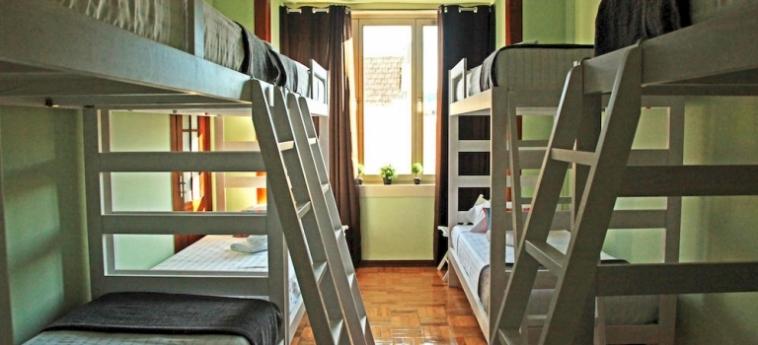 Coimbra Portagem Hostel: Kamin COIMBRA
