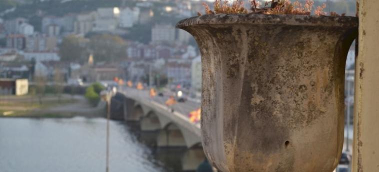 Coimbra Portagem Hostel: Wintergarten COIMBRA