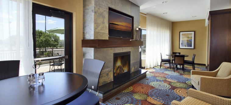 Hotel Holiday Inn Express & Suites First & Main: Area de Estar COLORADO SPRINGS (CO)
