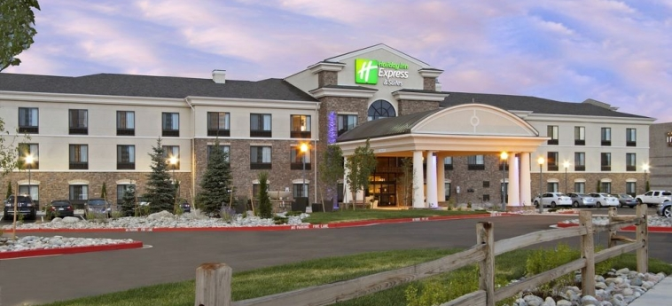 Hotel Holiday Inn Express & Suites First & Main: Frente Hotel COLORADO SPRINGS (CO)