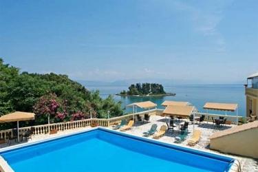 Hotel Pontikonissi: Piscina al aire libre CORFÚ