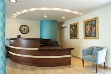 Hotel Pontikonissi: Reception CORFÚ