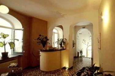 Hotel Centrale: Hall COSTA AMALFITANA