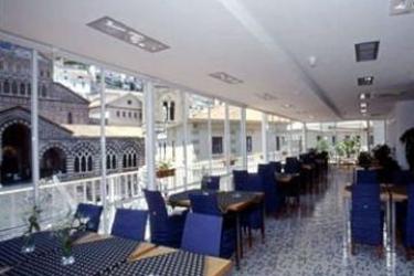 Hotel Centrale: Sala de Desayuno COSTA AMALFITANA