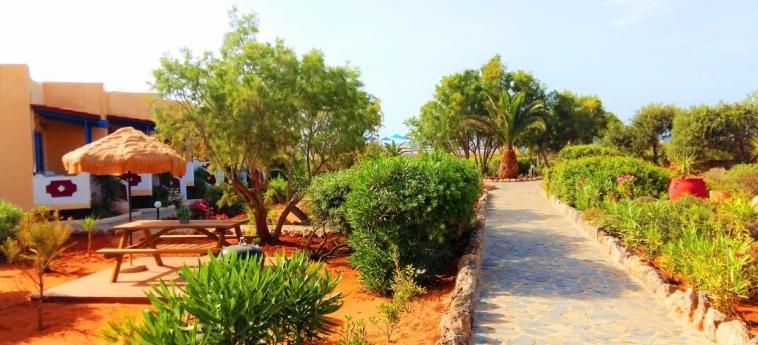 Hotel Zorbas Beach Village: Giardino CRETA