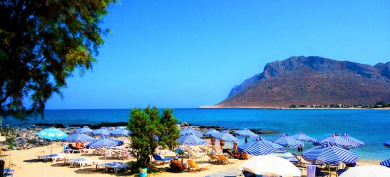 Hotel Zorbas Beach Village: Spiaggia CRETA