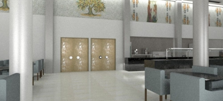 Royal Marmin Bay Boutique & Art Hotel: Lobby CRETE