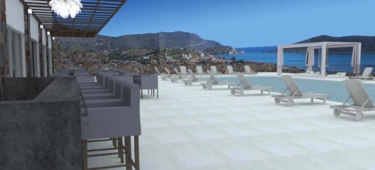 Royal Marmin Bay Boutique & Art Hotel: Outdoor Swimmingpool CRETE