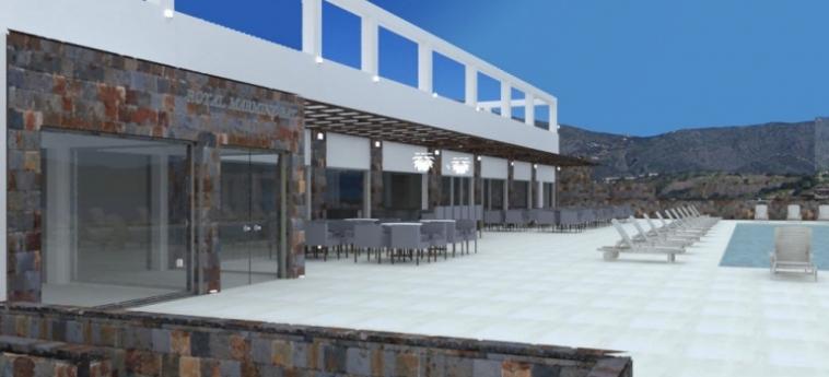 Royal Marmin Bay Boutique & Art Hotel: Parking CRETE