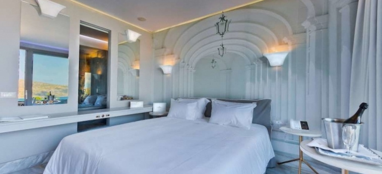 Royal Marmin Bay Boutique & Art Hotel: Relax Room CRETE