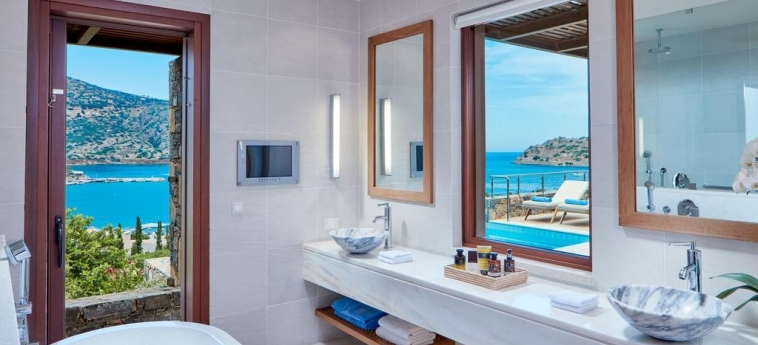 Hotel Blue Palace, A Luxury Collection Resort & Spa: Bathroom CRETE