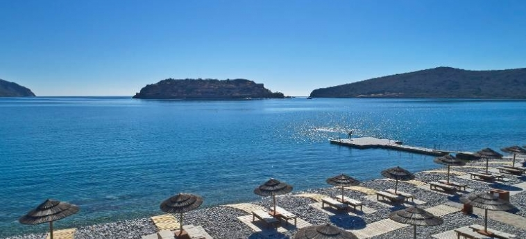 Hotel Blue Palace, A Luxury Collection Resort & Spa: Beach CRETE
