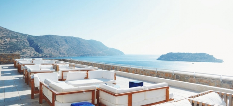 Hotel Blue Palace, A Luxury Collection Resort & Spa: Lounge Bar CRETE