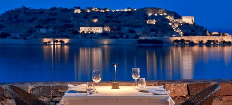 Hotel Blue Palace, A Luxury Collection Resort & Spa: Panoramic Restaurant CRETE
