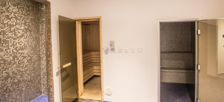 Hotel Vassos Nissi Plage: Sauna CYPRUS