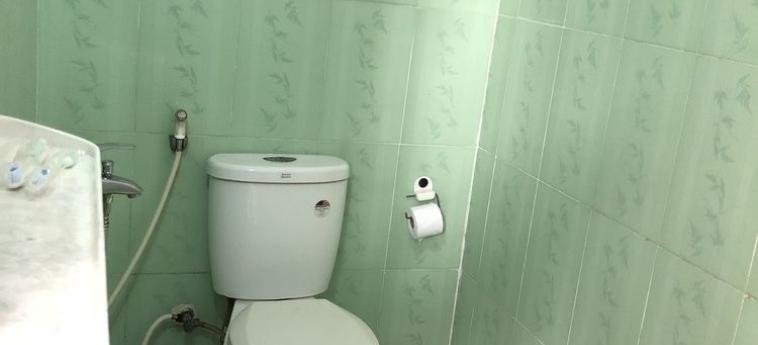Hotel Hoang Viet Motel: Bagno DA NANG
