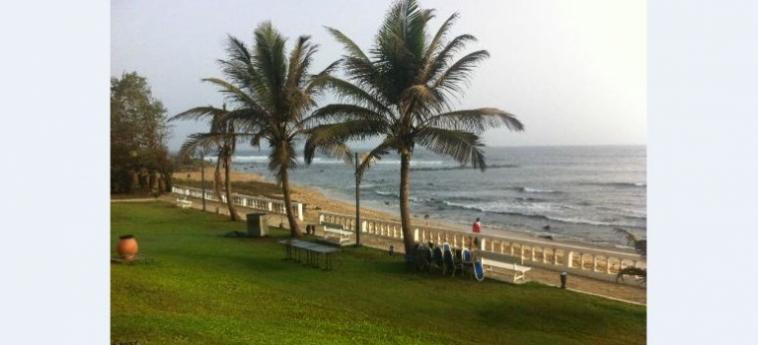 Hotel Le Meridien President: Beach DAKAR