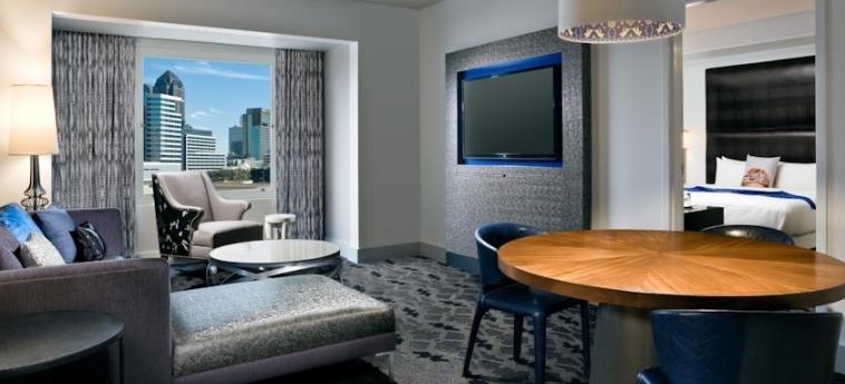 Hotel W Dallas - Victory: Living Room DALLAS (TX)