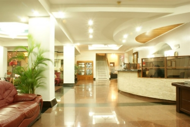 Hotel Gran Nacional: Lobby DAVID