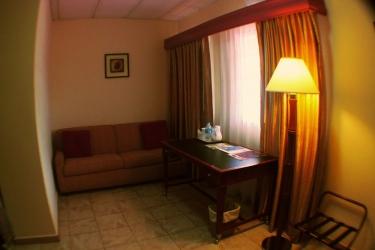 Hotel Gran Nacional: Living area DAVID