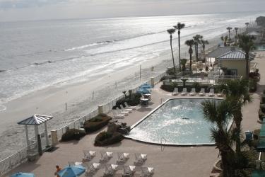 Hotel Grand Seas Resort: Vista spiaggia/oceano DAYTONA BEACH (FL)