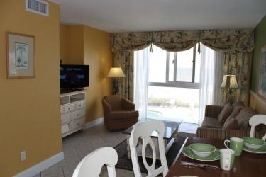 Hotel Grand Seas Resort: Zona giorno DAYTONA BEACH (FL)