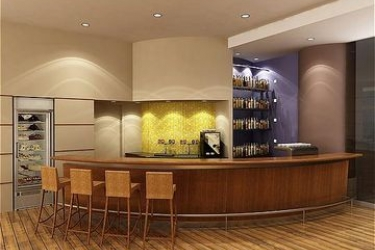 Hotel Crowne Plaza: Lounge Bar DEAD SEA-EIN BOKEK