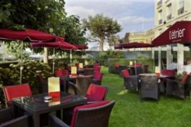 Hotel Barrière Le Royal Deauville: Garten DEAUVILLE