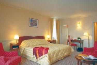 Barrière Le Grand Hotel Dinard: Schlafzimmer DINARD