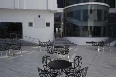 Olympic Hotel Djerba: Terrasse/Patio DJERBA